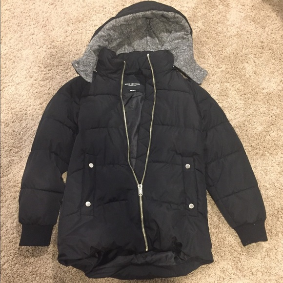7aef21b68 Andrew Marc black puffer down coat xs